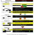 19-20 Band Calendar